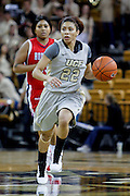 January 27, 2011: Central Florida guard Aarika Judge (22) during second half womens Conference USA NCAA basketball game action between the Houston Cougars and the Central Florida Knights. Houston defeated Central Florida 71-68 at the UCF Arena Orlando, Fl.