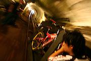Mariana_MG, Brasil...Red Bull Desafio da Mina de Ouro, competicao de downhill dentro de uma mina de ouro desativada, a Mina da Passagem...Red Bull challenge in the Goldmine, the downhill competition inside a deactivated goldmine, the Passage mine...Foto: LEO DRUMOND / NITRO..