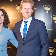 NLD/Hilversum/20180125 - Gouden RadioRing Gala 2017, Sjors Frohlich en partner