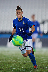 CESENA, ITALY - Tuesday, January 22, 2019: Italy's Lisa Boattin during the International Friendly between Italy and Wales at the Stadio Dino Manuzzi. (Pic by David Rawcliffe/Propaganda)