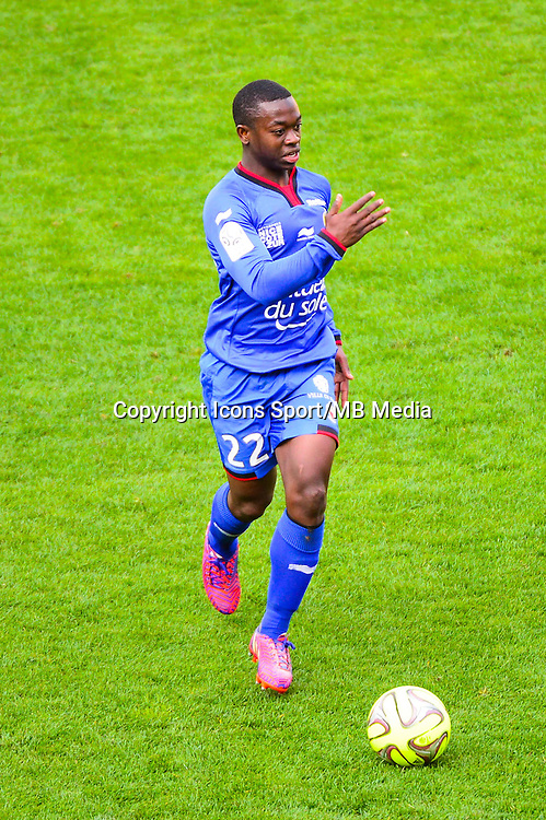 Nampalys MENDY - 12.04.2015 - Reims / Nice - 32eme journee de Ligue 1 <br />