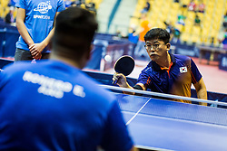 KIM Ki-young of Korea during SPINT 2018 Table Tennis world championship for the Disabled, Day two, on October 18th, 2018, in Dvorana Zlatorog, Celje, Slovenia. . Photo by Grega Valancic / Sportida