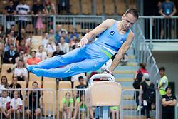 Saso Bertoncelj of Slovenia at Pommel Horse during Finals of Artistic Gymnastics FIG World Challenge Koper 2018, on June 2, 2018 in Arena Bonifika, Koper, Slovenia. Photo by Urban Urbanc / Sportida