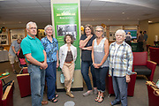 Retired library employees attends the 50th Anniversary of Alden Library. Photo by Ben Siegel