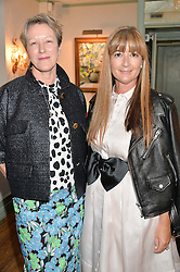 Left to right, NIKKI TIBBLES and DEBORAH LLOYD at a dinner hosted by Kate Spade NY to celebrate Chelsea in Bloom held at Daphne's, 112 Draycott Avenue, London on 20th May 2015.