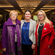 02.03.2017        <br /> Attending the Limerick City and County Councils Annual Tidy Towns Seminar 2017 at the Woodlands House Hotel Adare Co. Limerick were, Cllr. Bridget Teefy, Jayne Power, Limerick City and County Council and Amanda Slattery, Ballyhora. Picture: Alan Place