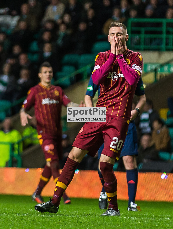 Louis Moult has a hance of a ht-trick during the match between Celtic and Motherwell (c) ROSS EAGLESHAM   Sportpix.co.uk