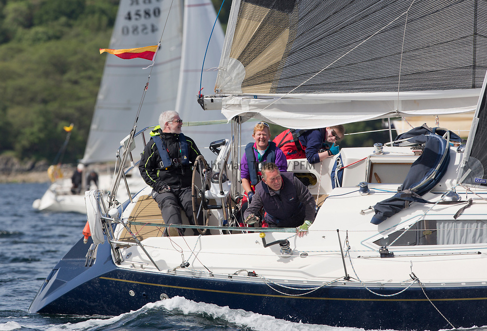 Silvers Marine Scottish Series 2017<br /> Tarbert Loch Fyne - Sailing Day 3<br /> <br /> 1302C, Lyrebird, Clive Reeves