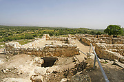 Hurbat Itri (Horvat Ethri), ruins of a Jewish village from the Second Temple period,  Judean Hills, Israel