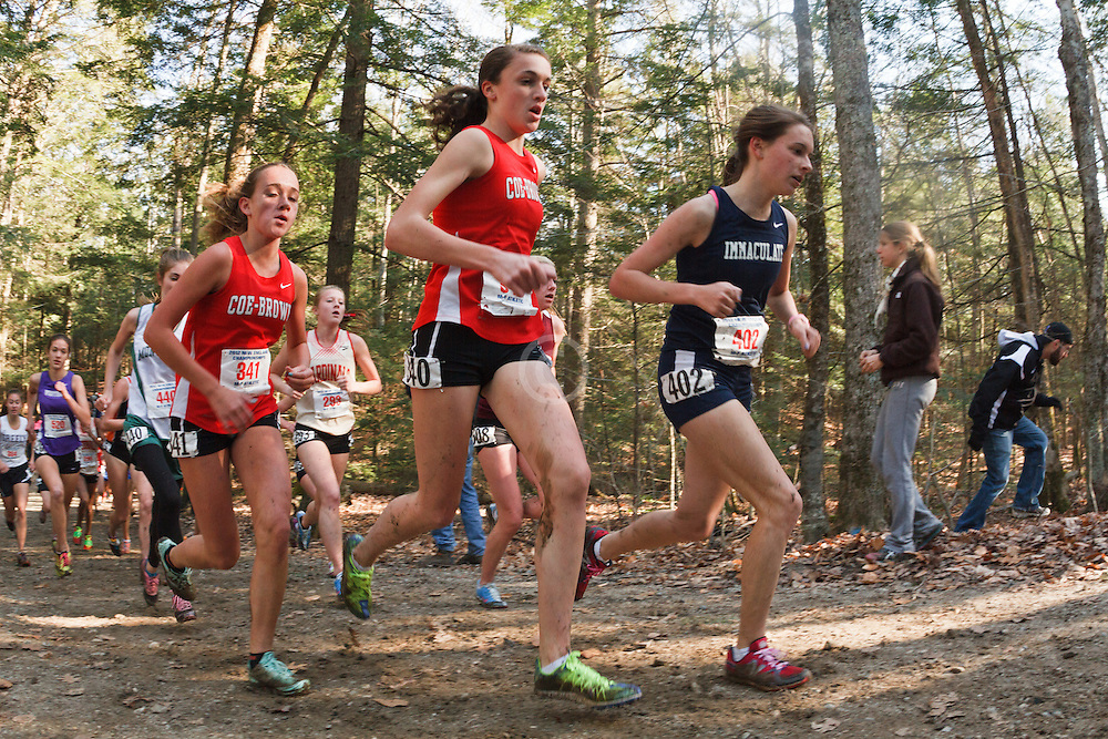 New England High School XC Championship, Coe-Brown, Immaculate
