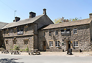 The Buck Inn pub, Malham village, Yorkshire Dales national park, England, UK