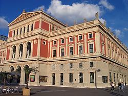 Musikverein Gesellschaft Der Musikfreunde Building Vienna, Wien, Austria