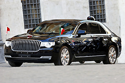 Italy, Rome - March 22, 2019.Xi Jinping, president of the Chinese Democratic Republic visits the President of the Lower Chamber..Xi Jinping's car (Credit Image: © Zucchi/Insidefoto/Ropi via ZUMA Press)
