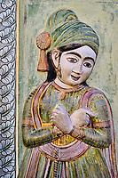 Inde, Rajasthan, Jaipur la ville rose, le City Palace, le Pitam Niwas Chowk, la porte des paons // India, Rajasthan, Jaipur the Pink City, the City Palace, the Pitam Niwas Chowk, the door of the peacocks