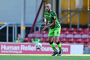 Forest Green Rovers Farrend Rawson(6) during the EFL Sky Bet League 2 match between Bradford City and Forest Green Rovers at the Utilita Energy Stadium, Bradford, England on 24 August 2019.