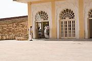 India, Rajasthan, Jodhpur, Mehrangarh fort Interior of the fort