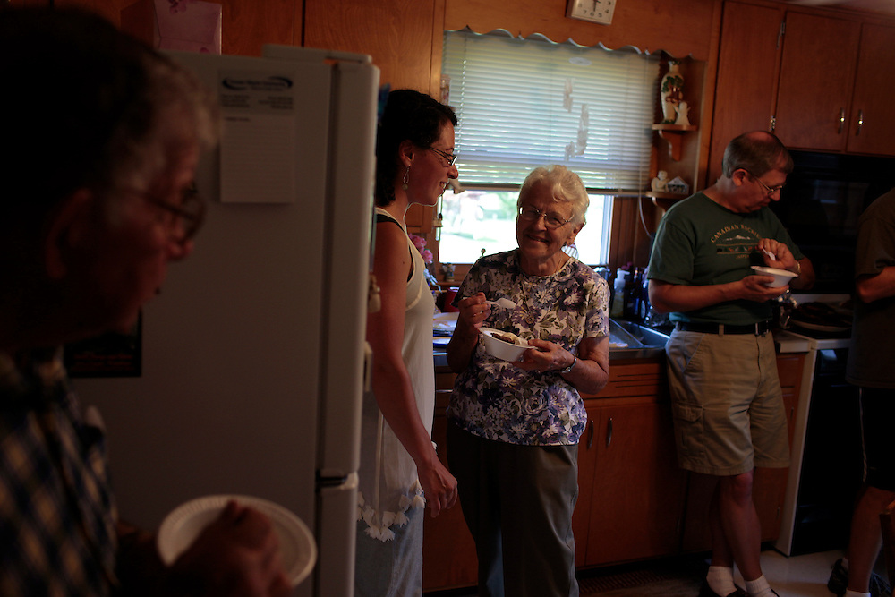 Our trip to Rittman, Ohio, for Grandma Ramsier's 80th birthday, which actually takes place in January.