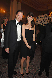 The HON.NAT ROTHSCHILD and MISS ADI NEUMANN at the Ark 2007 charity gala at Marlborough House, Pall Mall, London SW1 on 11th May 2007.<br />