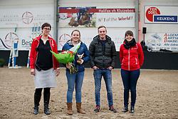 Repriels Caroline, BEL, Young Breeder Award<br /> Hengstenkeuring BWP<br /> 3de phase - Hulsterlo - Meerdonk 2018<br /> © Hippo Foto - Dirk Caremans