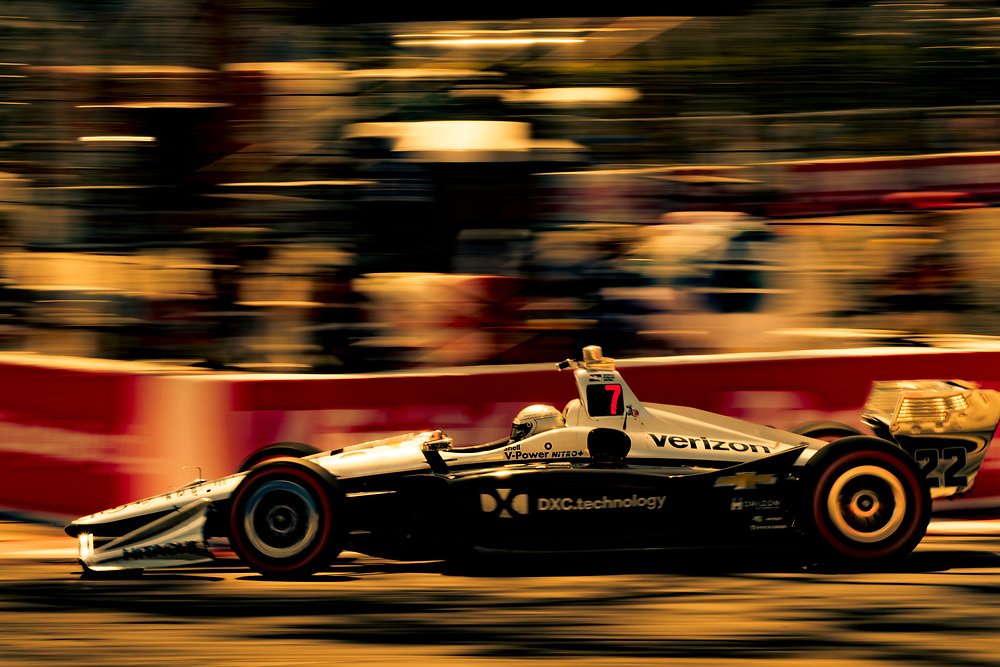 Simon Pagenaud, Team Penske Chevroletz<br /> Friday 13 April 2018<br /> Toyota Grand Prix of Long Beach<br /> Verizon IndyCar Series<br /> Streets of Long Beach, California USA<br /> World Copyright: Scott R LePage<br /> LAT Images