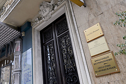 An outside view of the Polish consulate, in Monaco, on June 25, 2014. Police investigating the killing of Monaco heiress Helene Pastor last month have detained 23 people in France, including her daughter and son-in-law. Ms Pastor, from one of Monaco's richest families, was ambushed by a man armed with a shotgun as she left hospital in the French city of Nice in May. Her chauffeur also died of his wounds. Sylvia Pastor and her husband, Poland's honorary consul to Monaco Wojciech Janowski, were among those detained in Nice, Marseille and Rennes. Photo by Mike Bird/ABACAPRESS.COM  | 454291_010 Monaco Monaco