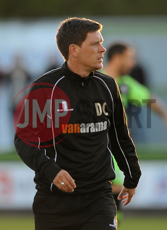 Bristol Rovers Manager, Darrell Clarke - Photo mandatory by-line: Dougie Allward/JMP - Mobile: 07966 386802 - 29/04/2015 - SPORT - Football - Nailsworth - The New Lawn - Forest Green Rovers v Bristol Rovers - Vanarama Football Conference