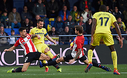 January 20, 2019 - Villarreal, Castellon, Spain - Mario Gaspar of Villarreal and Yuri Berchiche of Athletic Club de Bilbao during the La Liga Santander match between Villarreal and Athletic Club de Bilbao at La Ceramica Stadium on Jenuary 20, 2019 in Vila-real, Spain. (Credit Image: © Maria Jose Segovia/NurPhoto via ZUMA Press)