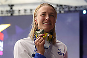 Sarah Sjoestrom (Sweden) European Champion 100 m Freestyle during the Swimming European Championships Glasgow 2018, at Tollcross International Swimming Centre, in Glasgow, Great Britain, Day 7, on August 8, 2018 - Photo Laurent Lairys / ProSportsImages / DPPI