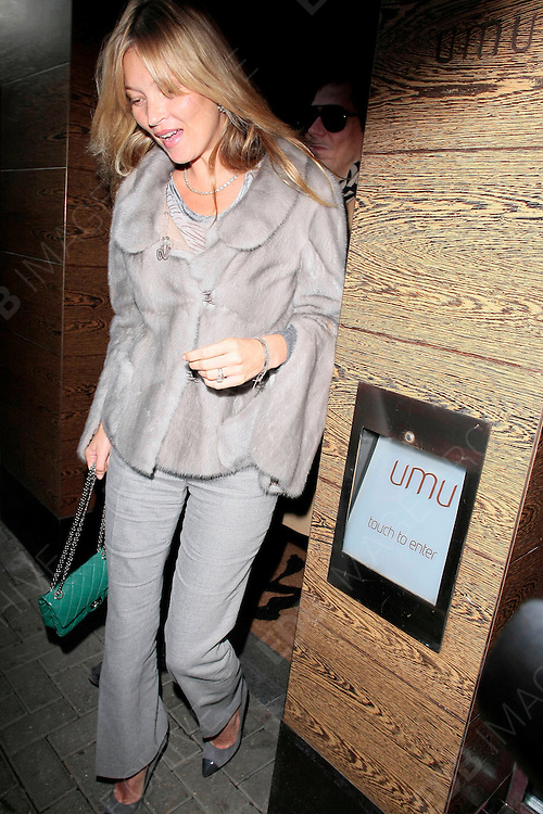 16.JANUARY.2012. LONDON<br /> <br /> KATE MOSS AND JAMIE HINCE HAVE LUNCH AT UMU RESTAURANT FOR HER 38TH BIRTHDAY<br /> <br /> BYLINE: EDBIMAGEARCHIVE.COM<br /> <br /> *THIS IMAGE IS STRICTLY FOR UK NEWSPAPERS AND MAGAZINES ONLY*<br /> *FOR WORLD WIDE SALES AND WEB USE PLEASE CONTACT EDBIMAGEARCHIVE - 0208 954 5968*