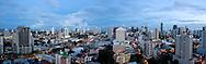 Vista panorámica de la Ciudad de Panamá desde el cangrejo.