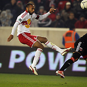Thierry Henry, Red Bulls, in action during the New York Red Bulls V D.C. United Major League Soccer, Eastern Conference Semi Final 2nd Leg match at Red Bull Arena, Harrison. New Jersey. USA. 8th November 2012. Photo Tim Clayton
