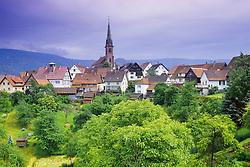 July 21, 2019 - Village Of Rottelsheim, Alsace, France (Credit Image: © Bilderbuch/Design Pics via ZUMA Wire)