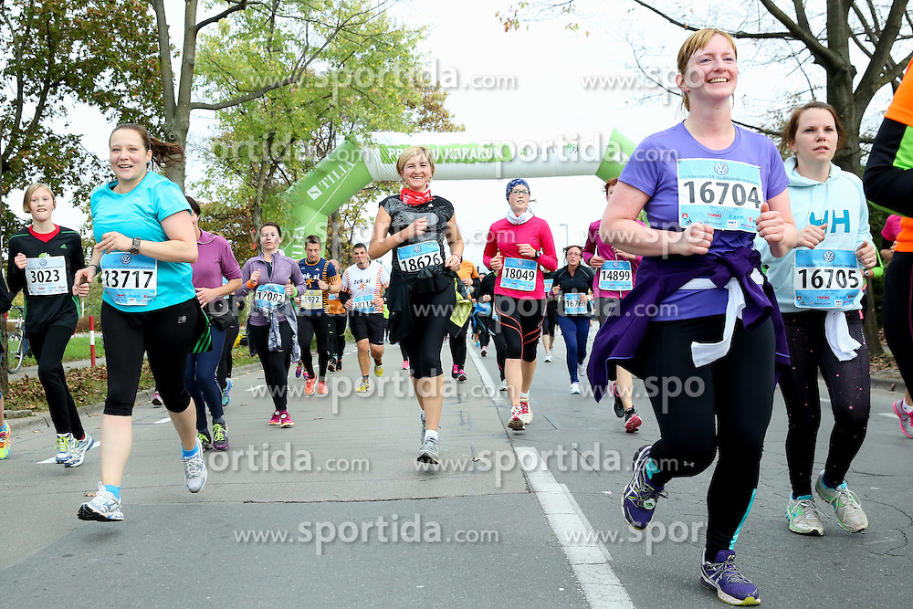 Alenka Teran Kosir competes on 10km course during 19th Ljubljana Marathon 2014 on October 25, 2014 in Ljubljana EXPO, Slovenia. Photo by Vid Ponikvar / Sportida.com