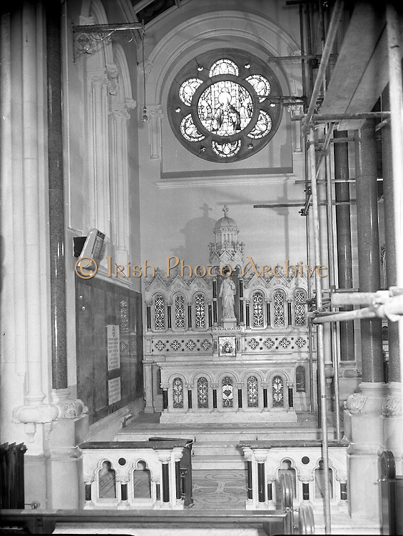 Interior and Structural Cleaners  - Special for Bray Parish Church.22/11/1956