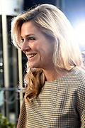 Koningin Maxima aanwezig bij lancering SchuldenlabNL. De Stichting SchuldenlabNL is een samenwerkingsverband tussen publieke en private partijen en heeft als doel Nederland schuldenzorgvrij te maken.<br /> <br /> Queen Maxima present at the SchuldenlabNL launch. The SchuldenlabNL Foundation is a partnership between public and private parties and aims to make the Netherlands debt-free.