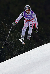 12.02.2011, Kandahar, Garmisch Partenkirchen, GER, FIS Alpin Ski WM 2011, GAP, Herren Abfahrt, im Bild Hannes Reichelt (AUT) takes to the air competing in the men's downhill race on the Kandahar race piste at the 2011 Alpine skiing World Championships, EXPA Pictures © 2010, PhotoCredit: EXPA/ M. Gunn