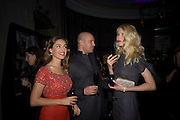 Kelly Brook, Billy Zane and Claudia Schiffer, Dom Perignon and Claudia Schiffer host a celebration of Dom Perignon Oenotheque 1995. The Landau, Portland Place. London W1. 26 February 2008.  *** Local Caption *** -DO NOT ARCHIVE-© Copyright Photograph by Dafydd Jones. 248 Clapham Rd. London SW9 0PZ. Tel 0207 820 0771. www.dafjones.com.