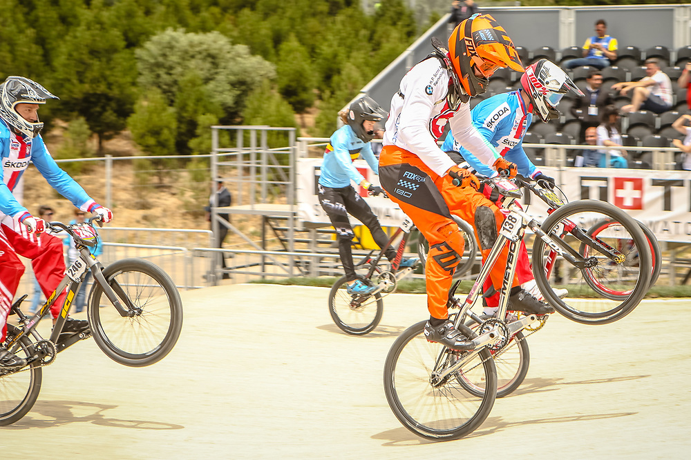 2018 UCI World Championships<br /> Baku, Azerbaijan<br /> Cruiser - 17-24 Men #138 (DRIDI Anthony) SUI
