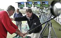 Golfles  van Donald Armour. AMSTELHOF Golfschool. Copyright Koen Suyk