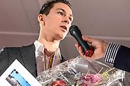 17-02-2016: Uitreiking sportprijs Utrecht 2015: Utrecht<br /> <br /> Veldrijder Lars vd Haar wint de prijs, sportman van het jaar 2015<br /> <br /> In de Jaarbeurs in Utrecht vindt de uitreiking van de sportprijs 2015 plaats welke georganiseerd is door VSU en gemeente Utrecht.<br /> <br /> Foto: Gertjan Kooij