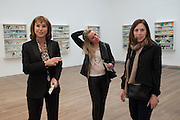 LAURA TOWNSLEY; ISABELLA HALAMISCH; ALEXANDRA TOWNSLEY, Damien Hirst, Tate Modern: dinner. 2 April 2012.