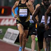 Roma 31/05/2018 Stadio Olimpico<br /> Diamond League : Golden Gala Pietro Mennea<br /> Giordano Benedetti 800 metri