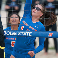 Sand Volleyball versus Oregon, Photo Patrick Sweeney