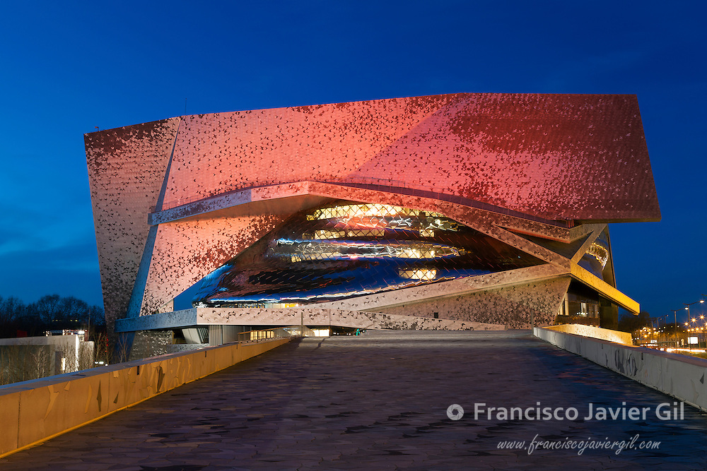 Philharmonie de Paris, Cite de la musique, Paris, Ile-de-france, France