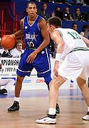 Francia 28/06/1999<br /> Campionati Europei di Basket Francia 1999<br /> Italia-Lituania<br /> Carlton Myers