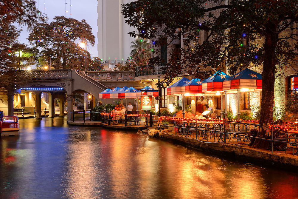 The river Walk,San Antonio,Texas,USA