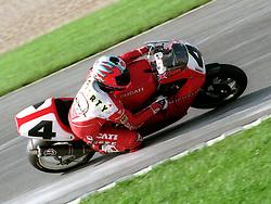 CARL FOGARTY ENGLAND DUCATI, WSB World Superbike Championship Donington Park 3rd October 1993SB DONINGTON 93