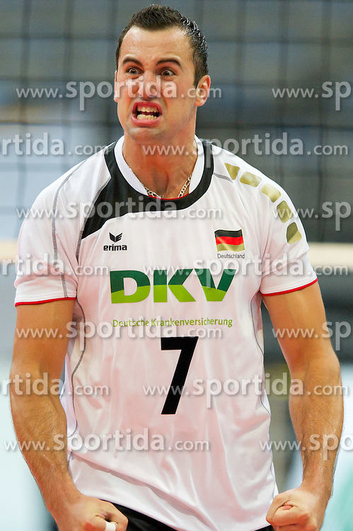 11.09.2011, O2 Arena, Prag, CZE, Europameisterschaft Volleyball Maenner, Vorrunde D, Deutschland (GER) vs Slowakei (SVK), im Bild Georg Grozer (#7 GER / Rzeszow POL) // during the 2011 CEV European Championship, Germany vs Slovakia at O2 Arena, Prague, 2011-09-11. EXPA Pictures © 2011, PhotoCredit: EXPA/ nph/  Kurth       ****** out of GER / CRO  / BEL ******