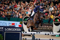 Stevens Mario, GER, Credo 17<br /> Championat von Leipzig price<br /> Leipzig - Partner Pferd 2018<br /> © Hippo Foto - Stefan Lafrentz