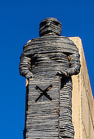 The Ten Pillars of the Freedom Charter, Walter Sisulu Square of Dedication, Soweto, Johannesburg, South Africa.